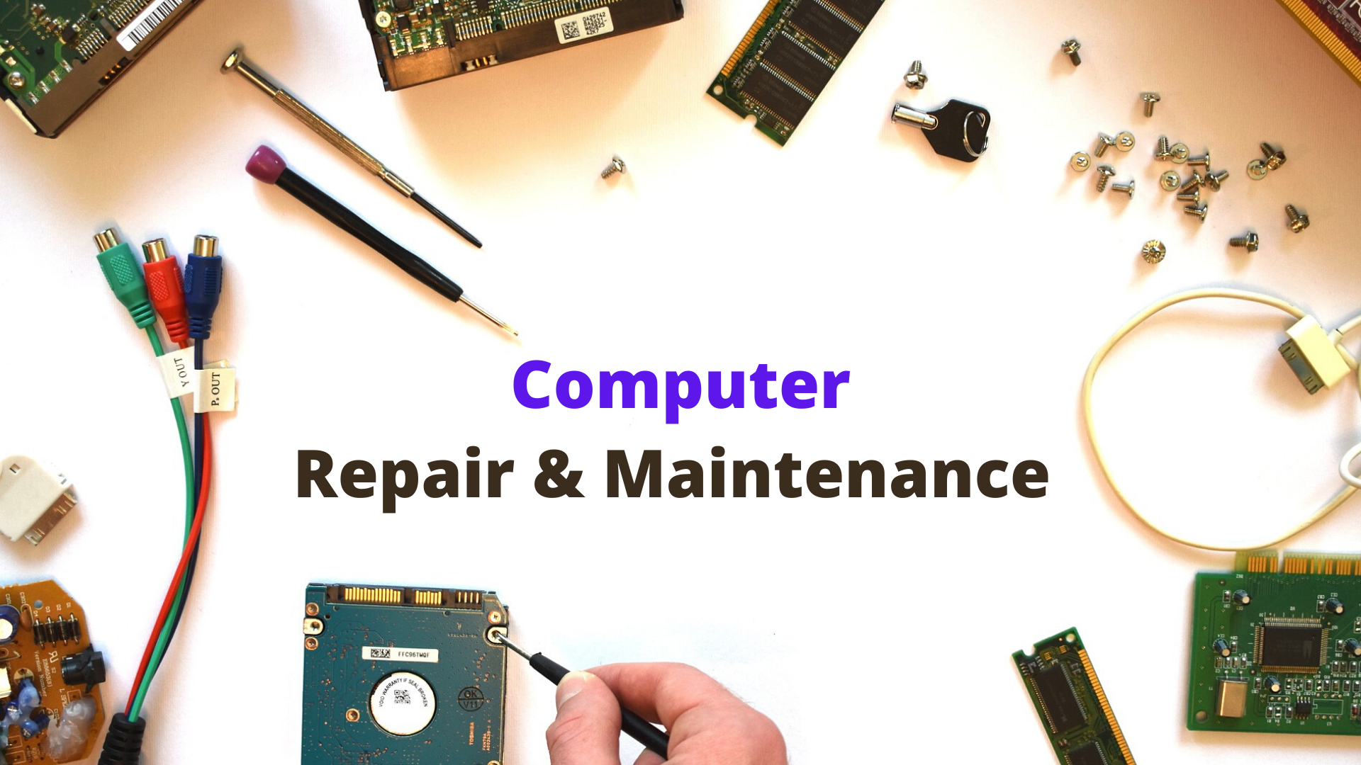Computer Repair Maintenance