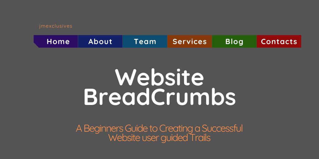 Website BreadCrumbs Navigation
