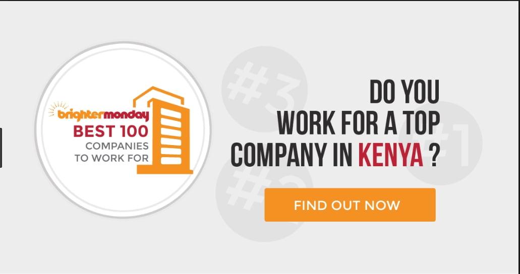 BrighterMonday Best Companies in Kenya