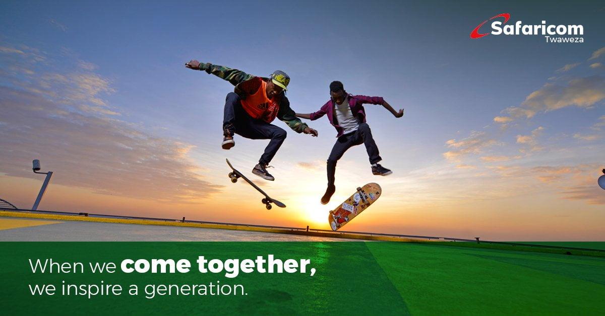 Safaricom Brand Campaign Slogan