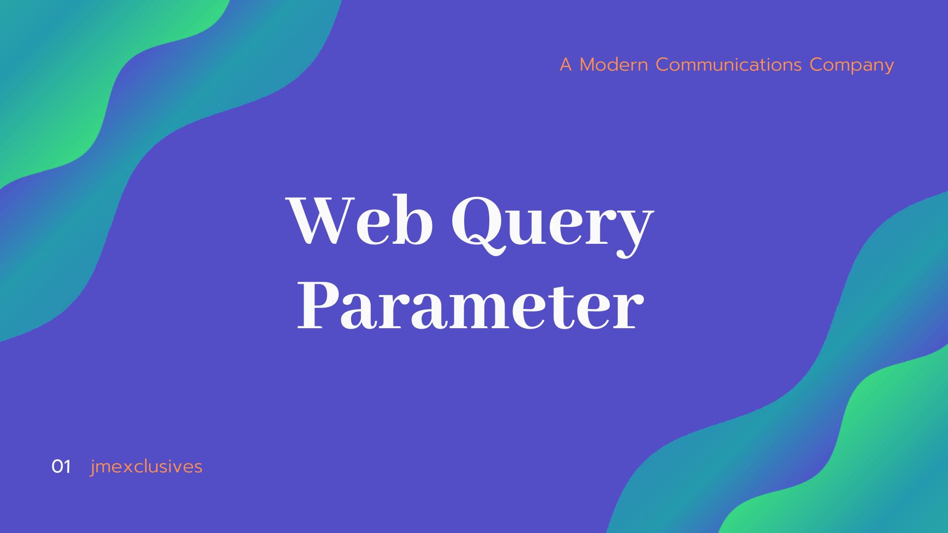 Web Query Parameter