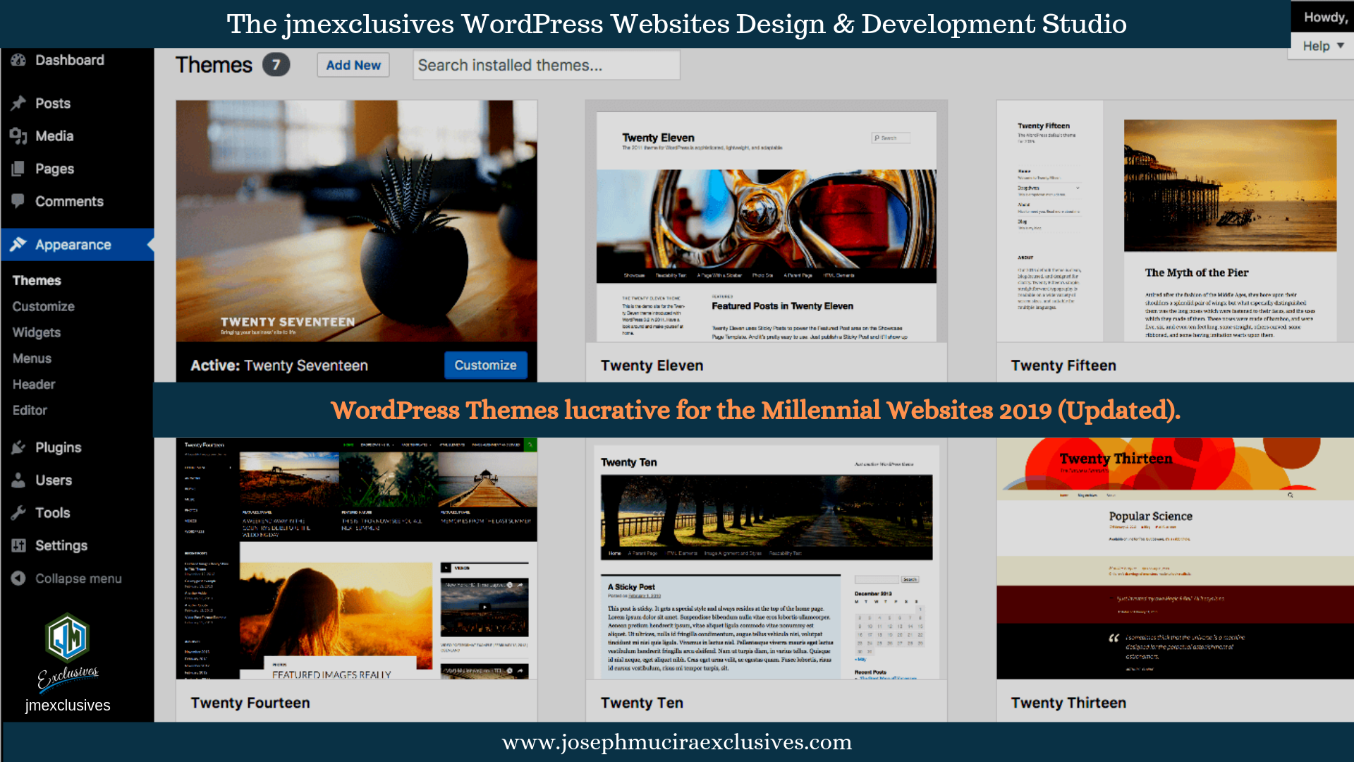 WordPress Websites free Themes