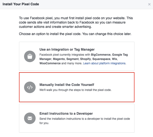 How to Install your Facebook Pixel Code