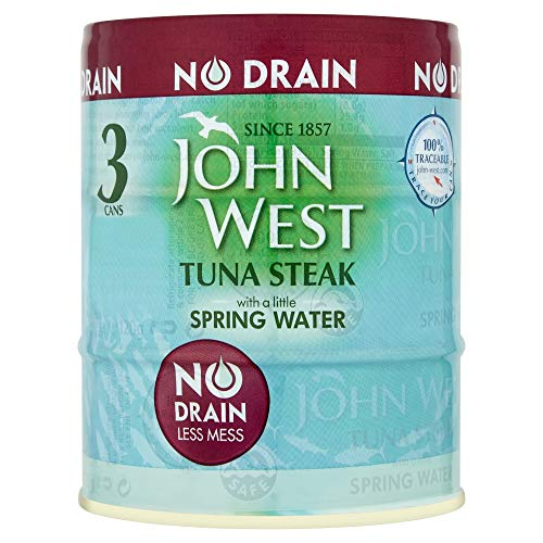 John West No Drain Tuna Steak