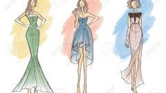 Fashion Design Sketch Models