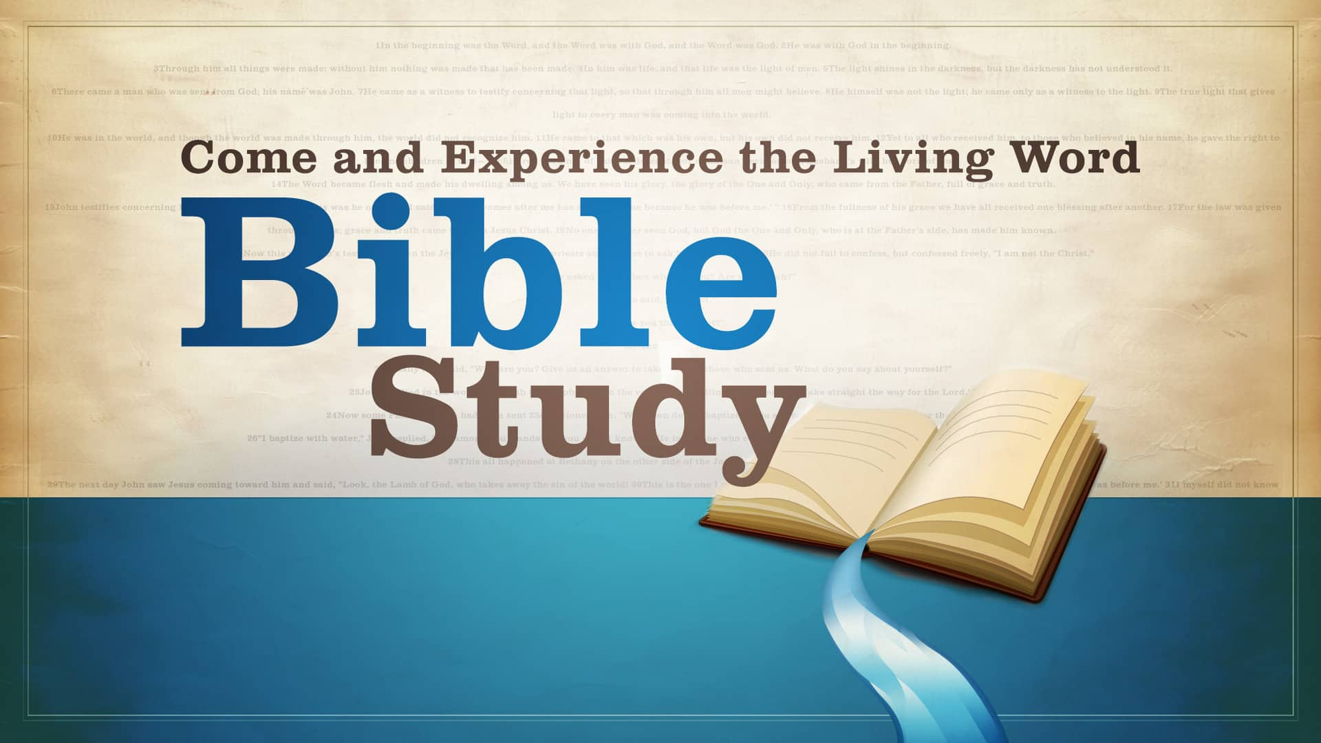 What is Bible Study?