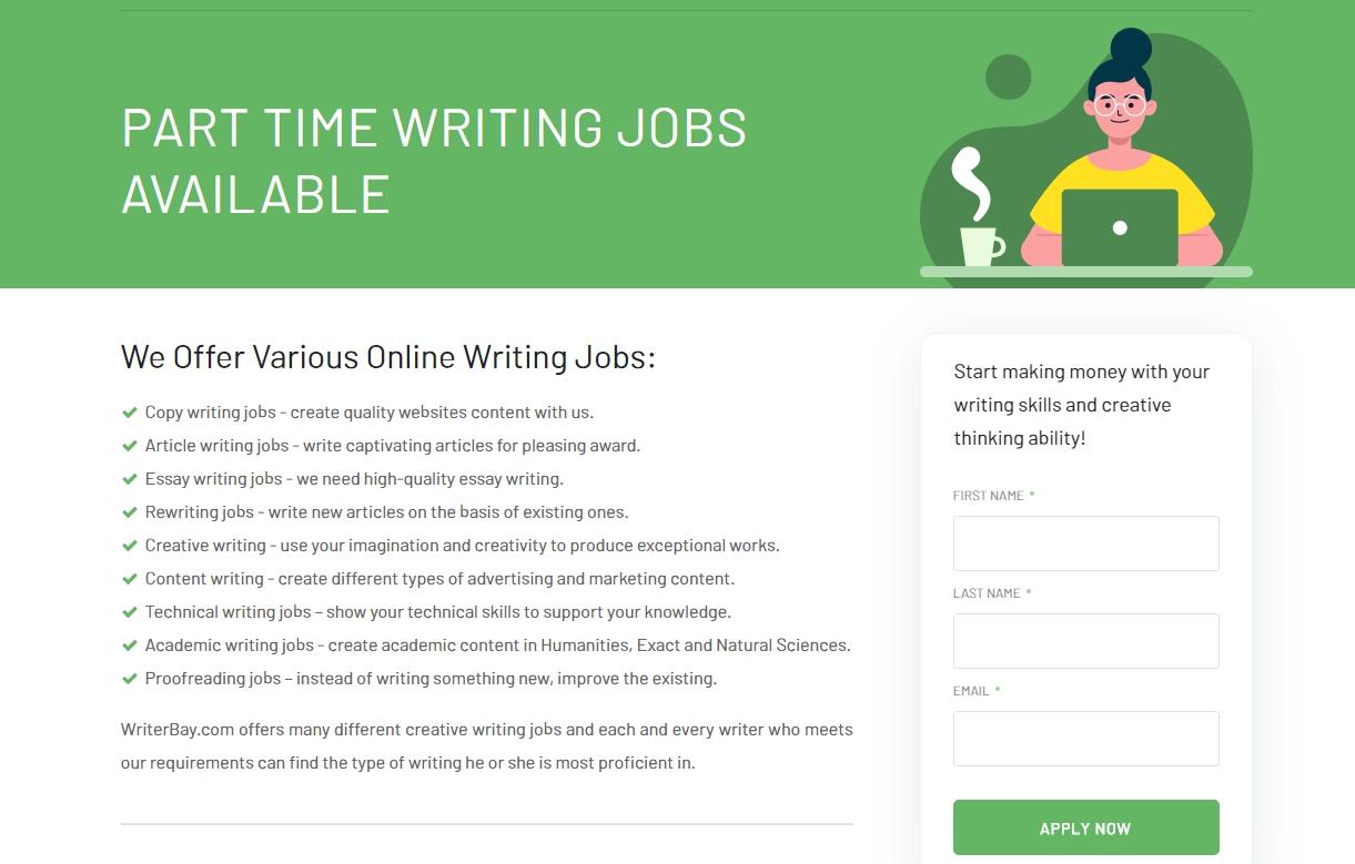 Writerbay Online Writing