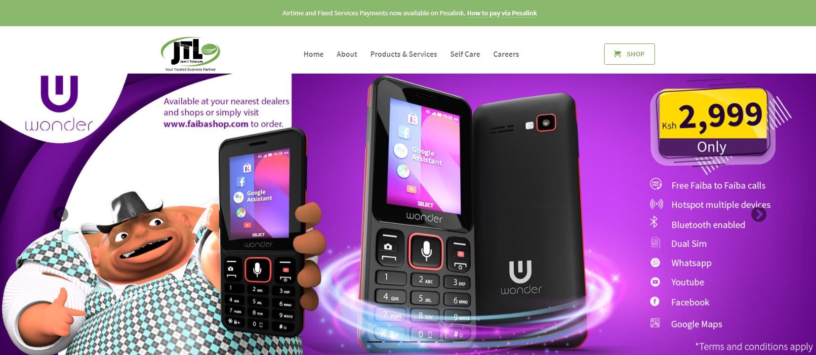 Faiba by Jamii Telecommunications Limited (JTL)