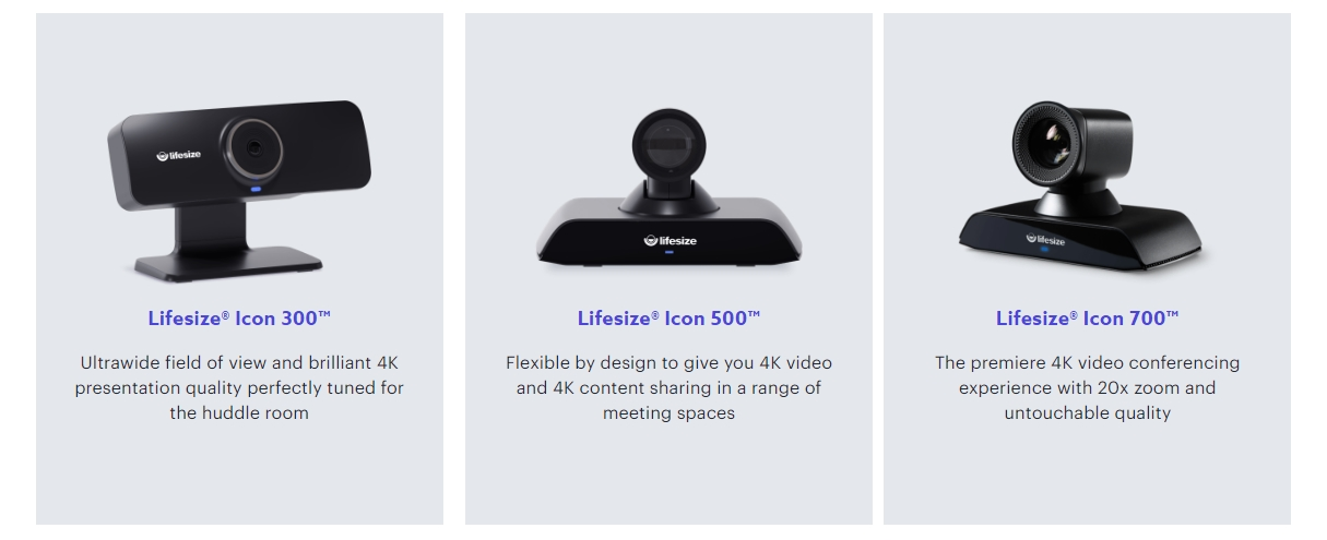 Lifesize 4K conference room systems