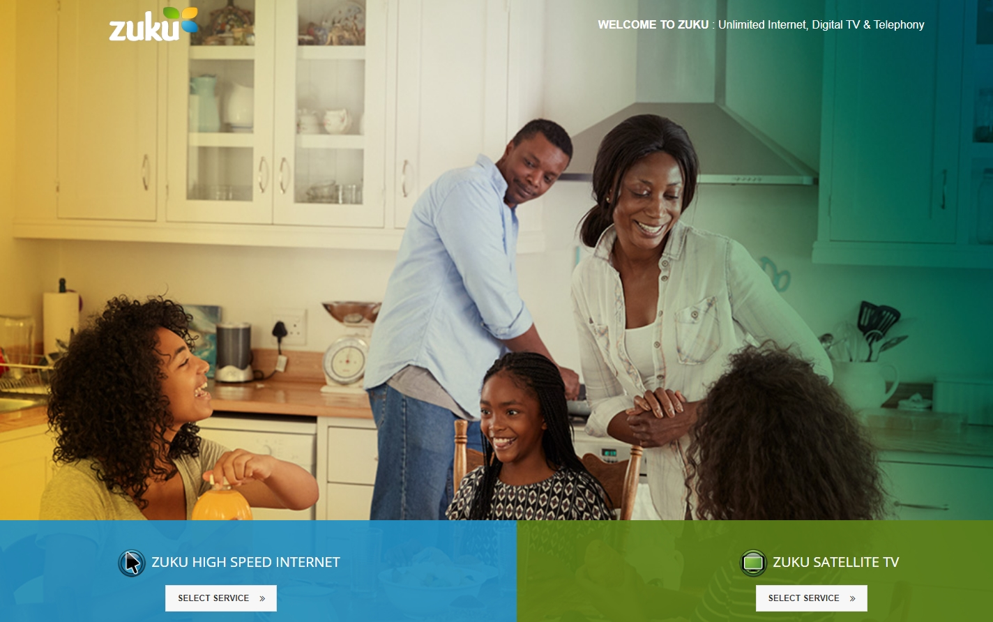 Zuku Internet Service Providers In Kenya
