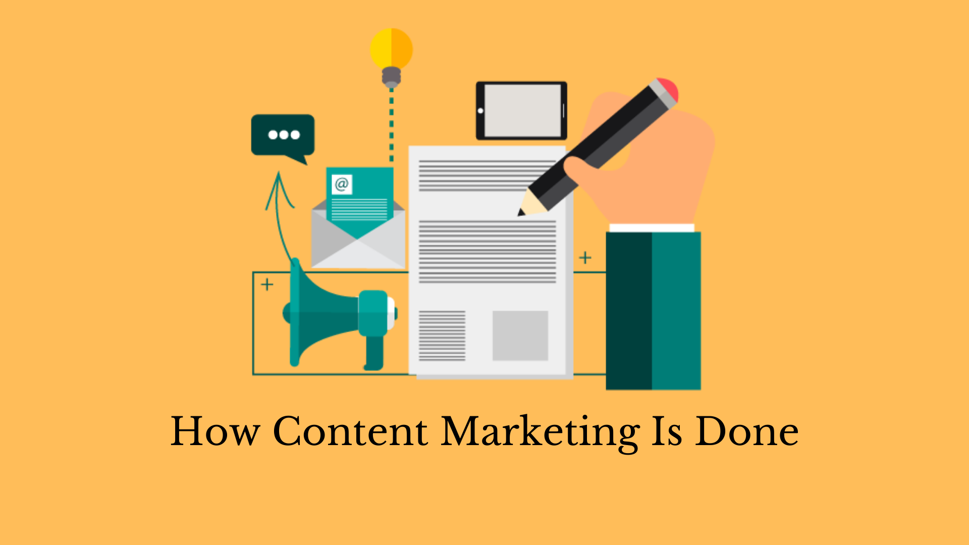 How is Content Marketing done?