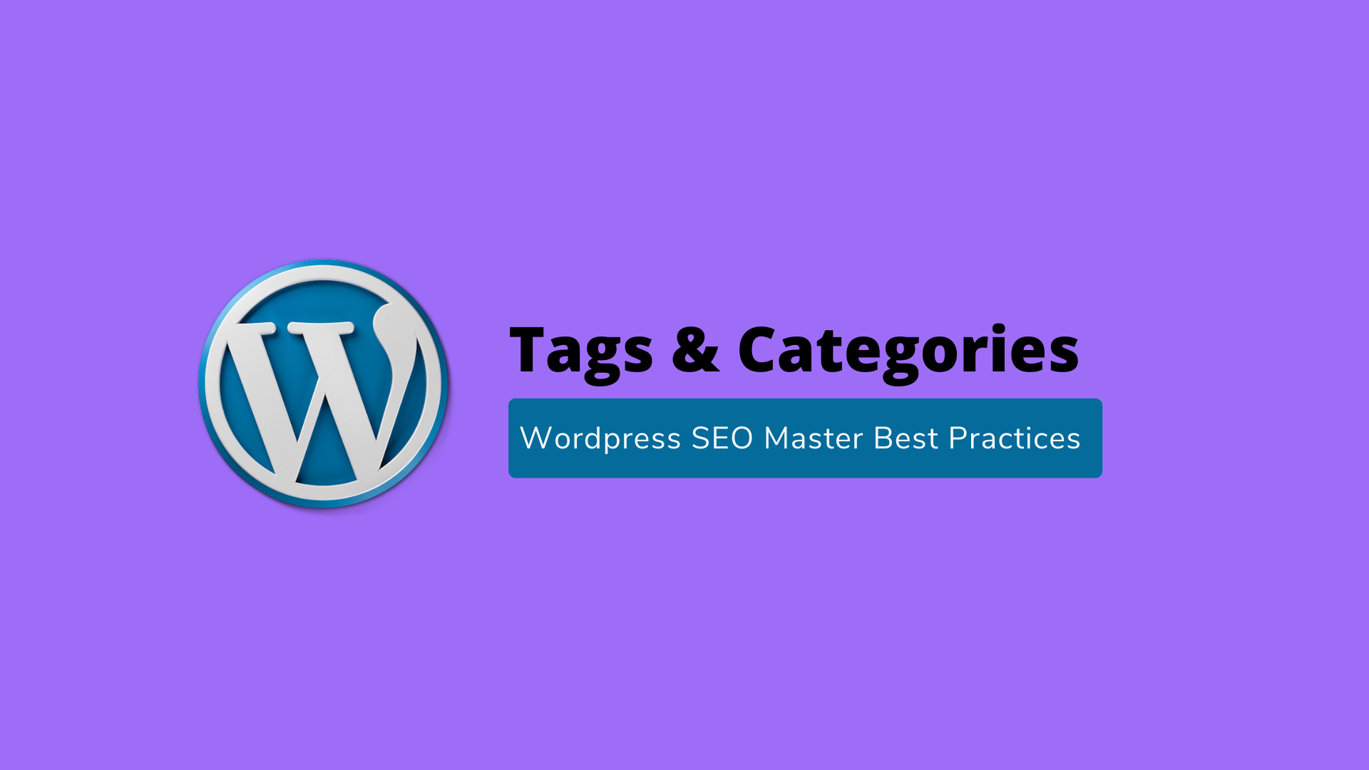 Tags & Categories