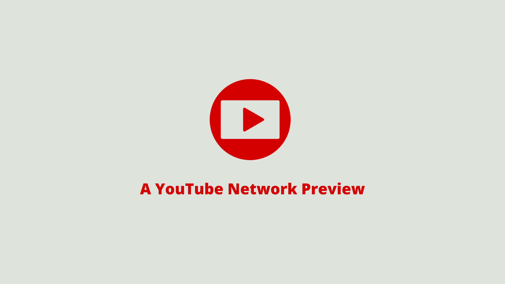 Why is YouTube Network important?