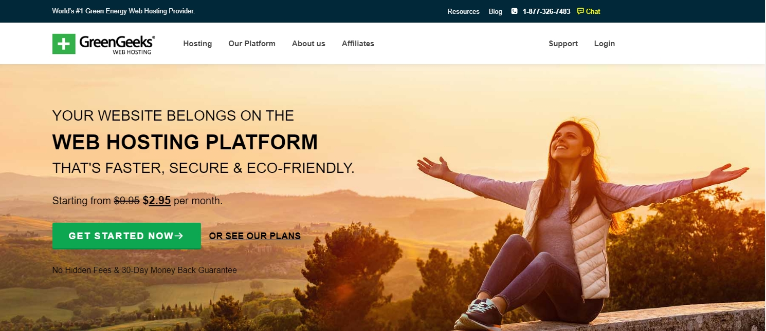 GreenGeeks Web Hosting Platform