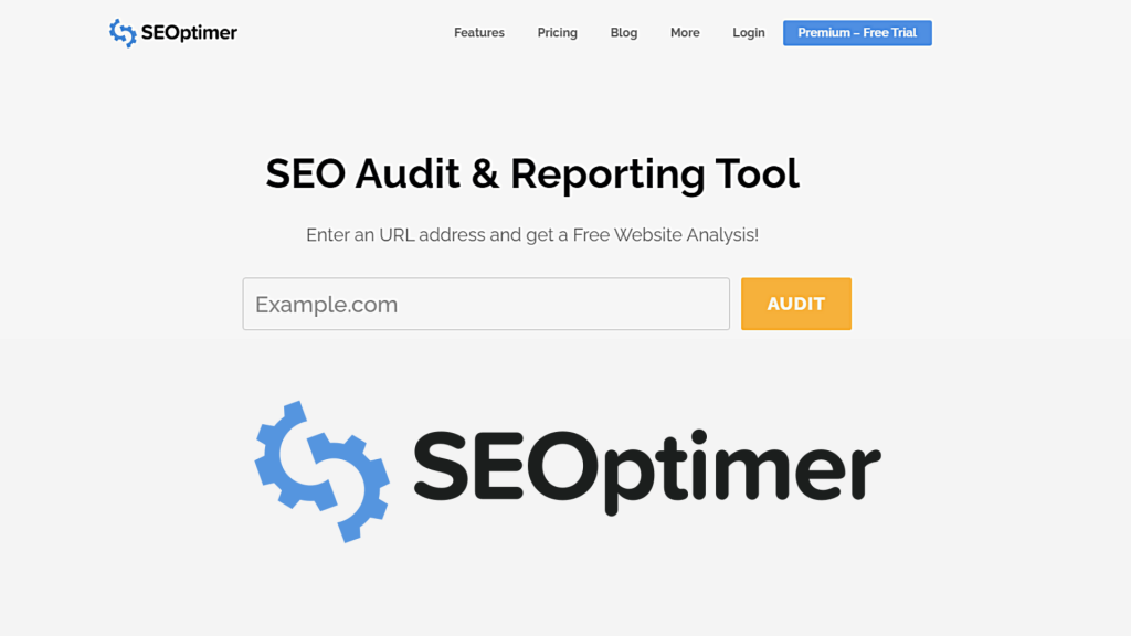 SEOptimer | A Free SEO Audit & Reporting Tool for Sites