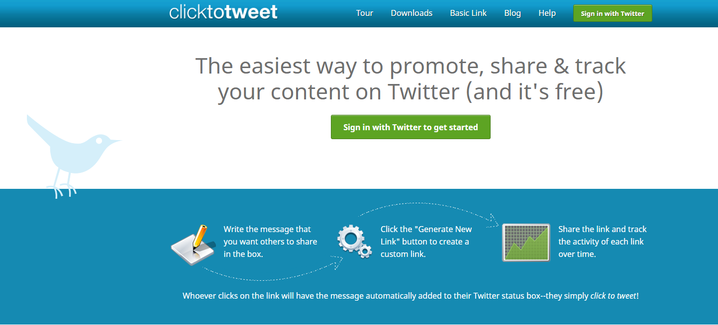 How to Create a Click to Tweet Link for Site