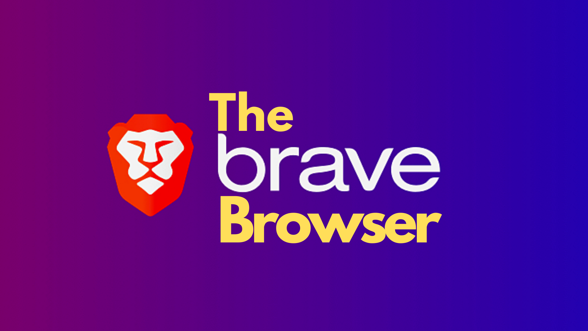 How Brave Browser Works