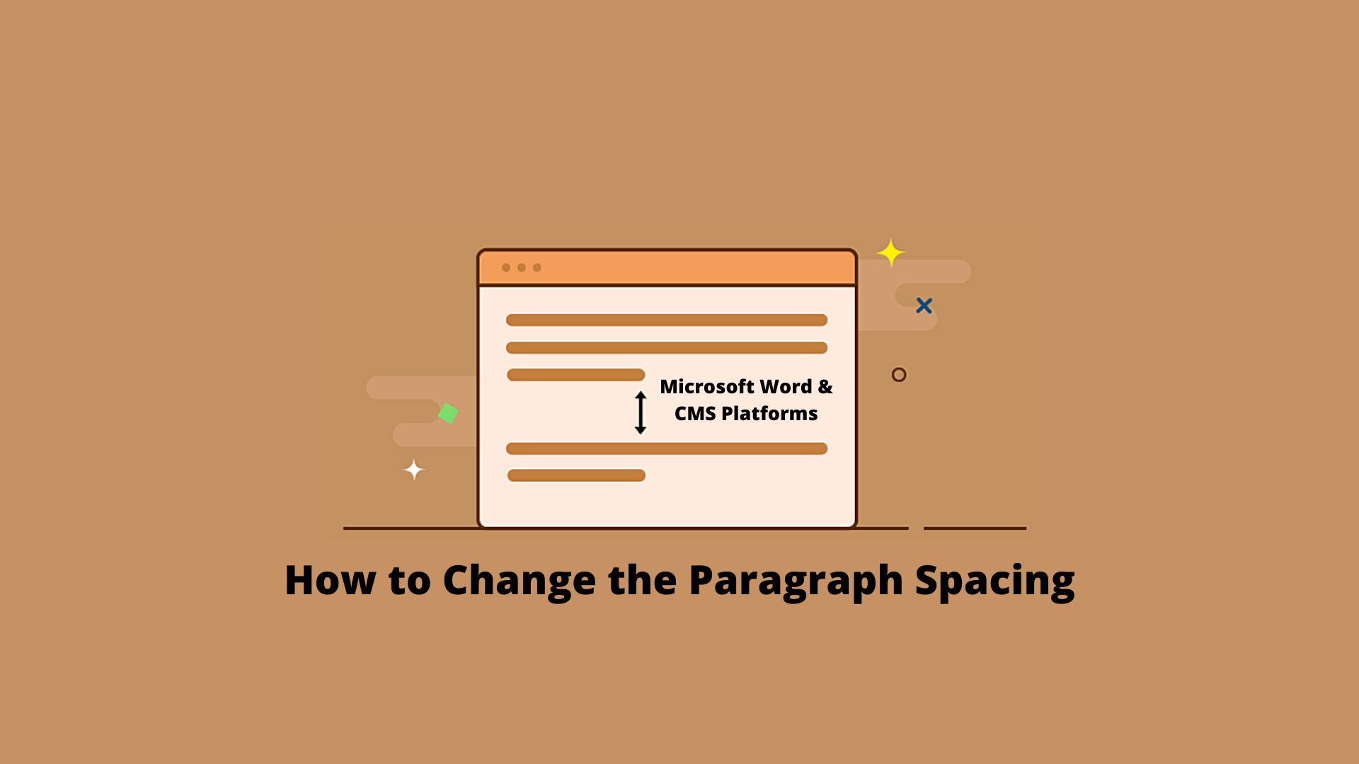 How to Change the Paragraph Spacing in a Context