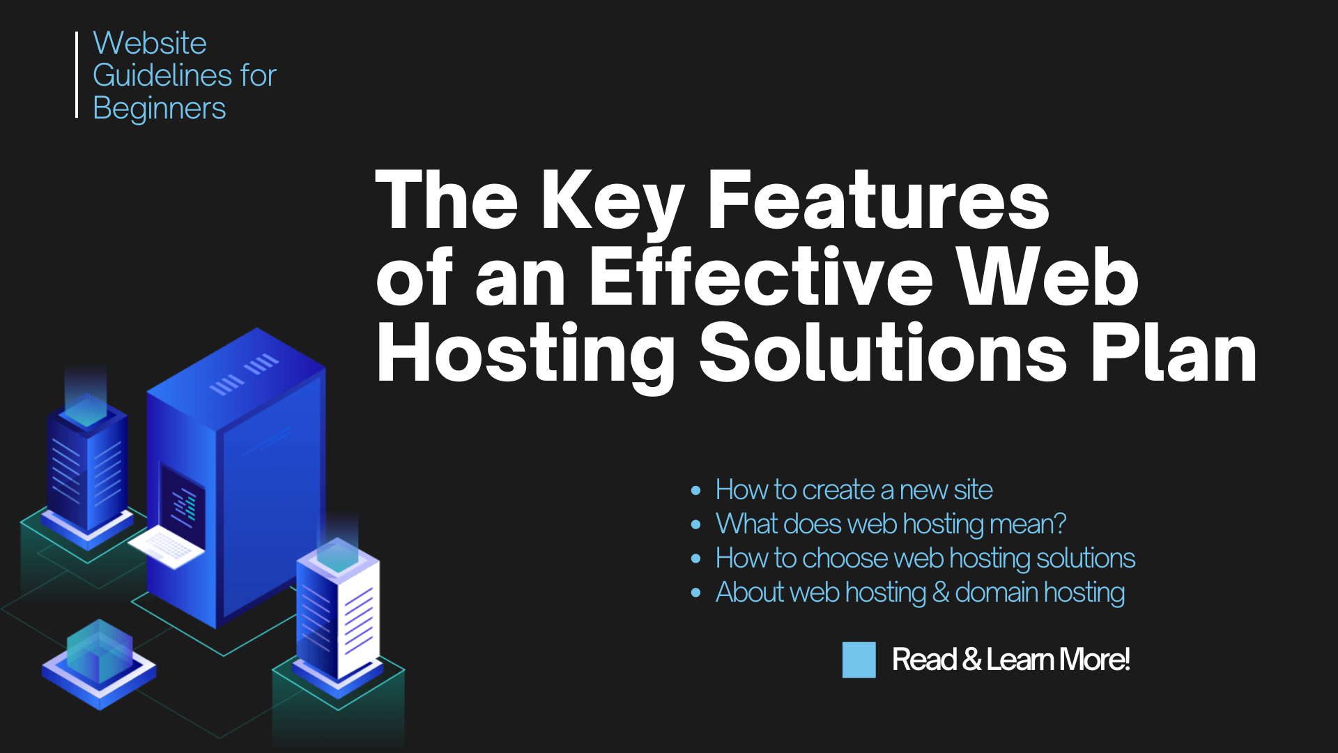 How to Choose a Web Hosting Solution Plan