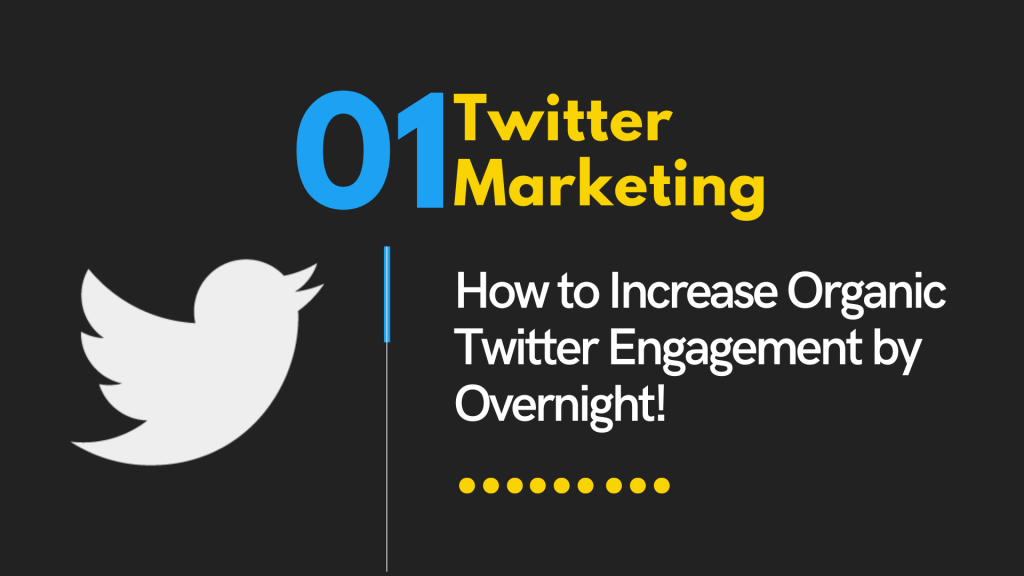 How to Increase Organic Twitter Engagement by Overnight!