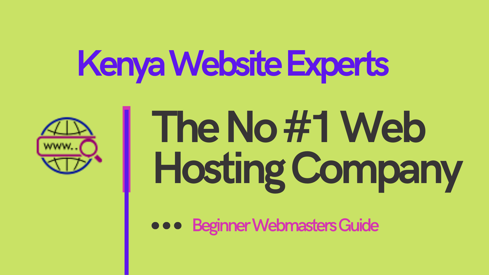 Why Use Kenya Website Experts?