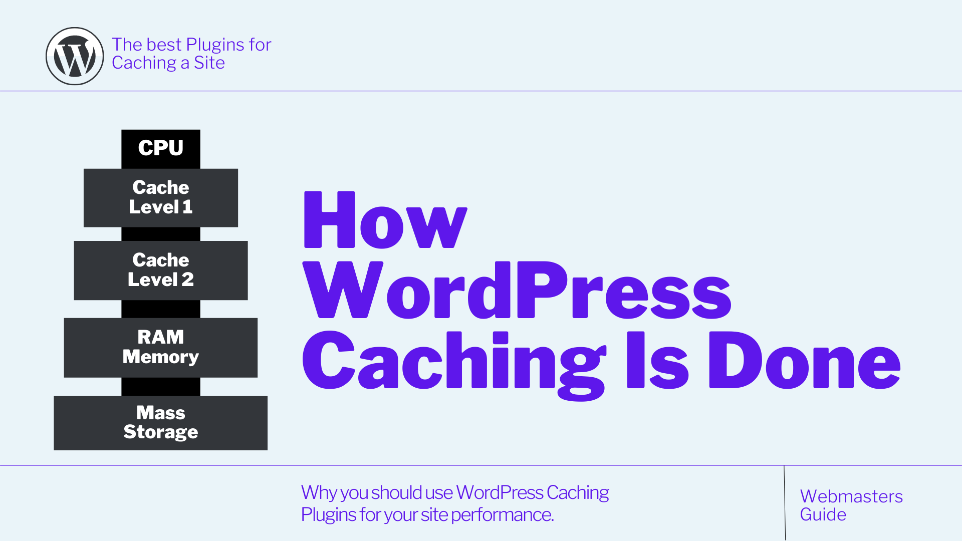 How is WordPress Caching done?