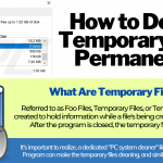 Temporary Files | What are they? & How are they deleted?