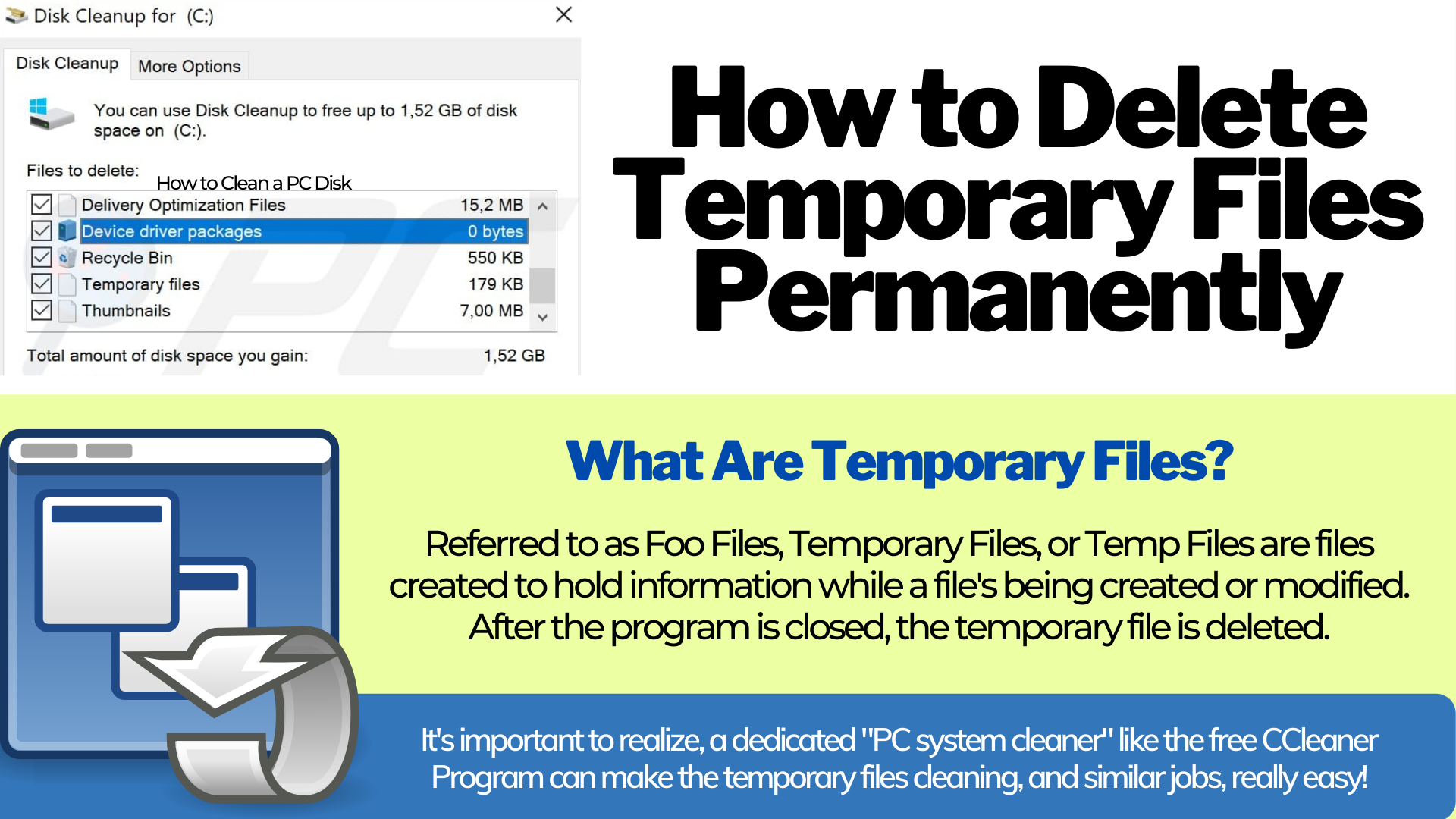 What are Temporary Files?