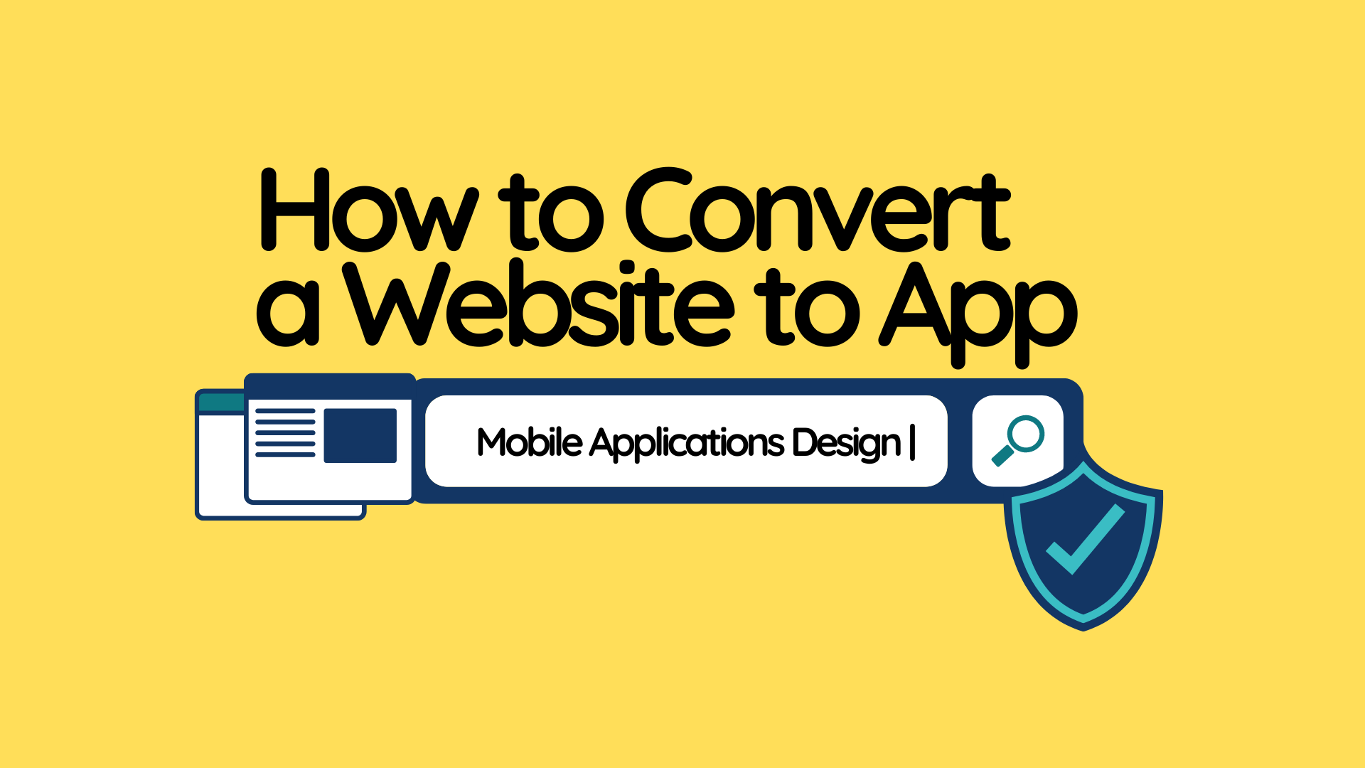 How to Convert a Website to App