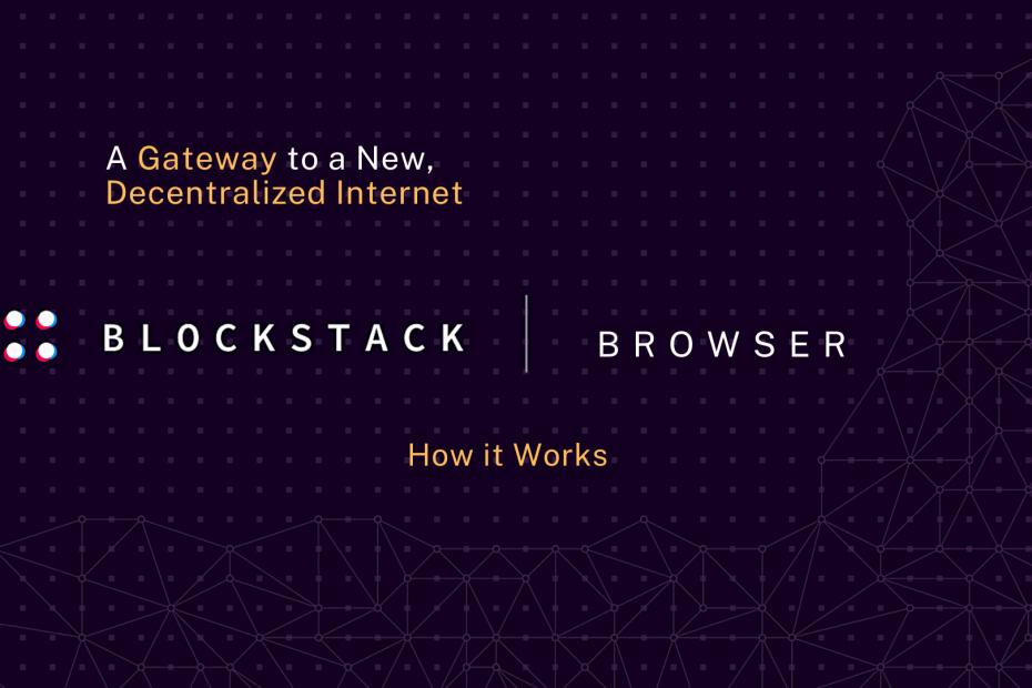 How Blockstack Browser Works