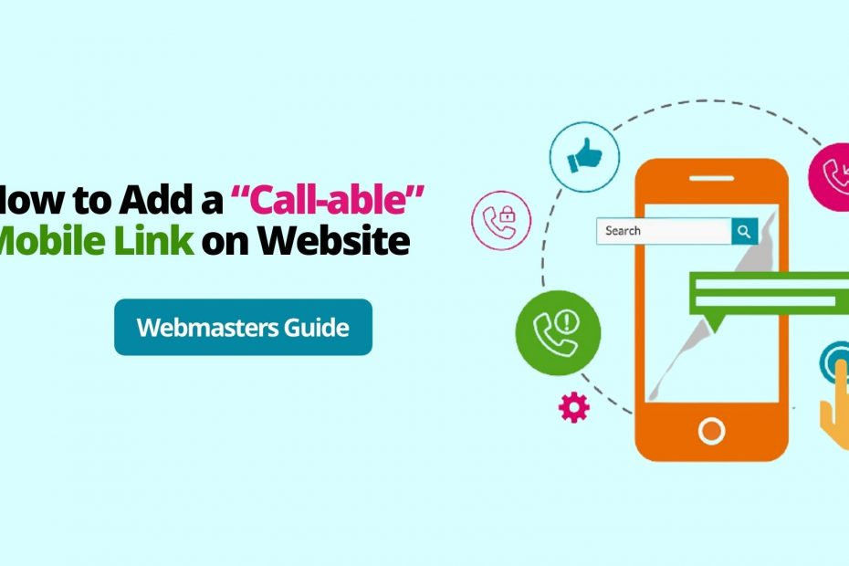 How to Add an HTML Phone Number on Website