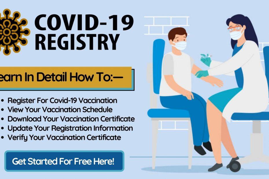Covid-19 Registry Online