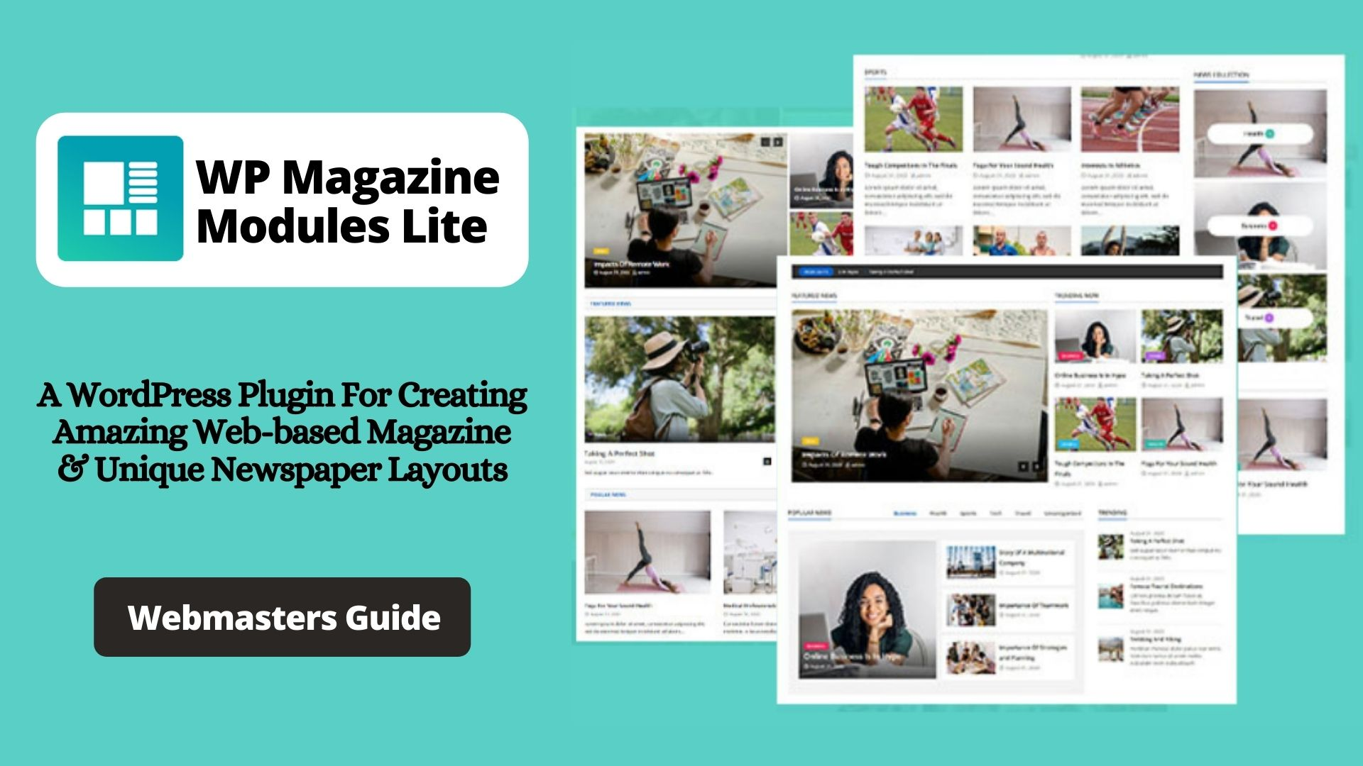 What Is WP Magazine Modules Lite?